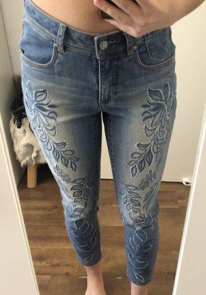 Jeans mit Strass von Madeleine