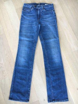 Dolce & Gabbana Jeans met rechte pijpen staalblauw