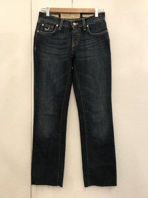 Jacob Cohen Jeans boyfriend bleu foncé coton