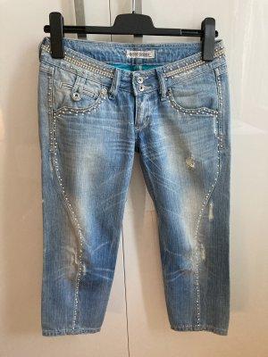 Jeans mit Swarovski Steine/Perlen