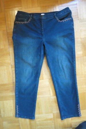 Mona Jeans elasticizzati blu scuro