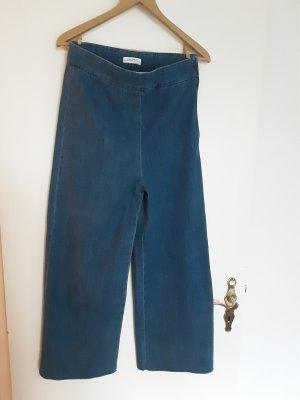 Zara Jeans marlene blu acciaio Cotone