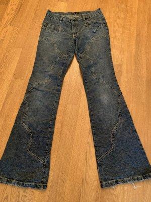 Seven7 Vaquero de corte bota azul
