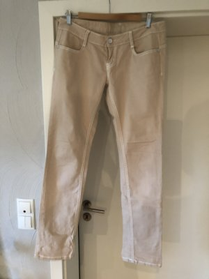 MOD Jeans coupe-droite crème-beige clair
