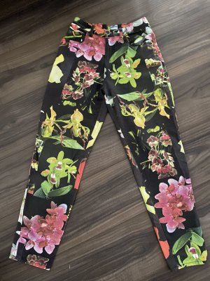 Moschino High Waist Trousers multicolored