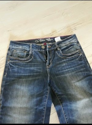Tom Tailor Denim Pantalone a vita bassa blu