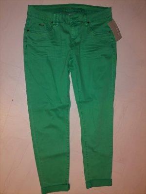 Jeans carotte multicolore