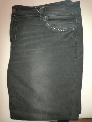 BC Collection Slim jeans zwart-grijs