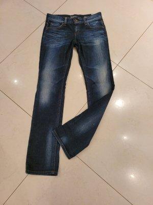 Marc O'Polo Jeansy z prostymi nogawkami niebieski-stalowy niebieski Bawełna
