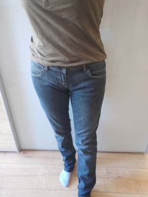 Outfitters nation Jeans taille basse bleu