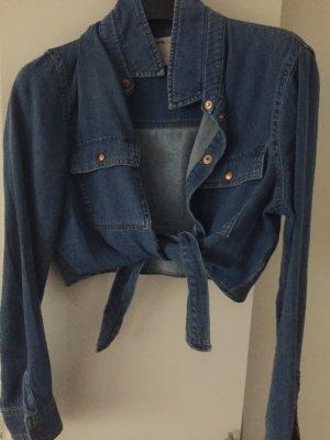 Asos Denim Shirt dark blue