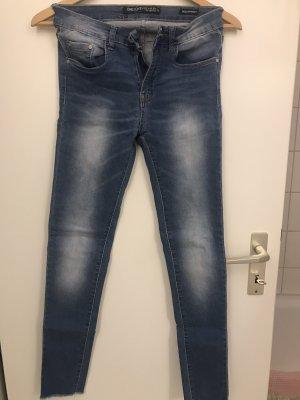 one love Pantalone elasticizzato blu acciaio