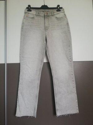 Orsay Jeansy z prostymi nogawkami jasnoszary-szary