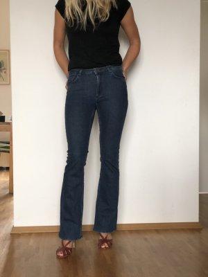 & other stories Jeans flare bleu acier-bleu coton
