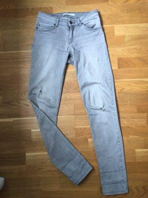 Oui Jeans stretch gris clair