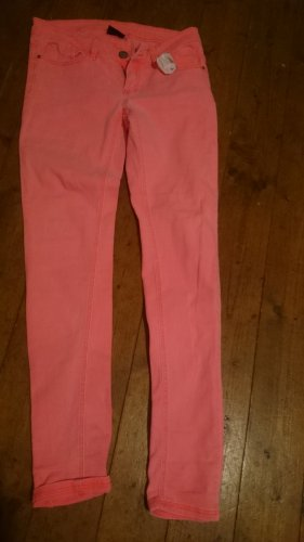 Tube Jeans neon pink