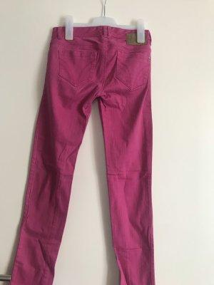 Tally Weijl Jeansy z prostymi nogawkami różowy