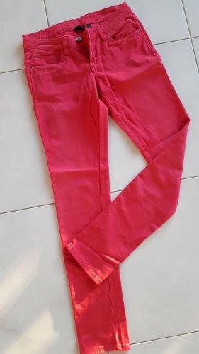 Esmara Jeans skinny rosso lampone