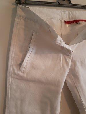 Prada Jeans a 3/4 bianco