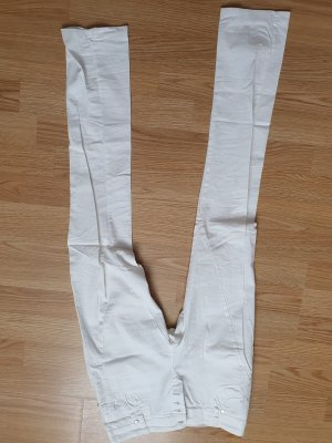 Pronto Low Rise Jeans white