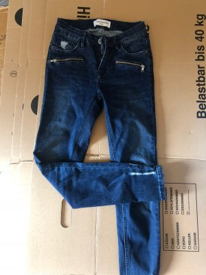 Jeans Queen Hearts high waist
