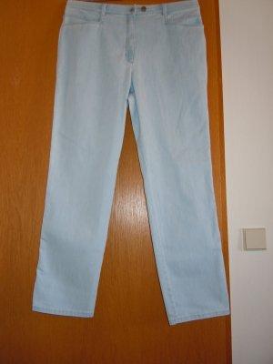 Brax Stretch jeans lichtblauw Katoen