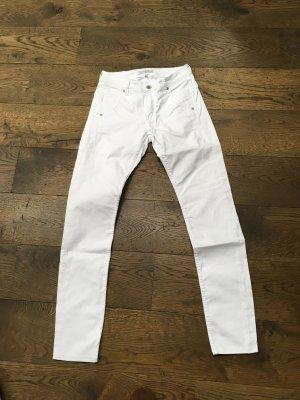 Jeans Red Button 36 weiß