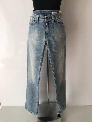 Replay Jeans coupe-droite bleu pâle
