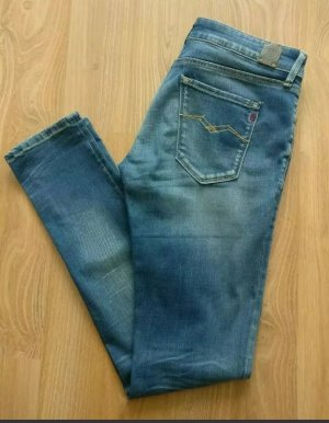 Jeans Replay, Damen, Sommerhose, dunkelblau, NEU, Gr. W 29, L 30, used, skinny
