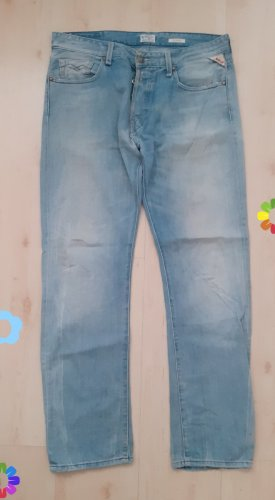Replay Jeans boyfriend multicolore
