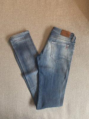 Replay Jeans slim fit blu acciaio