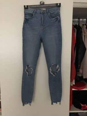 Gina Tricot Hoge taille jeans veelkleurig