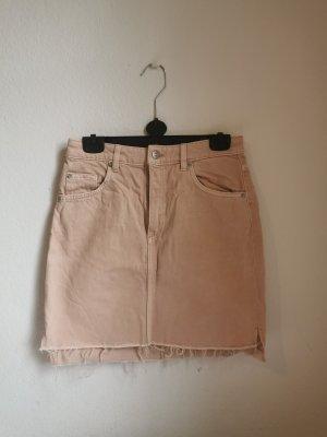 H&M Gonna di jeans color oro rosa