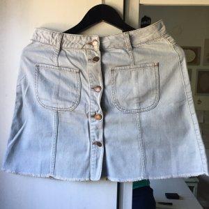 River Island Jupe en jeans bleu azur-bronze