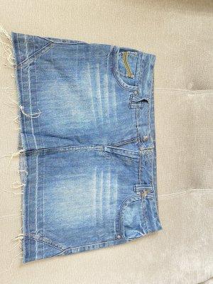 Yessica Gonna di jeans azzurro