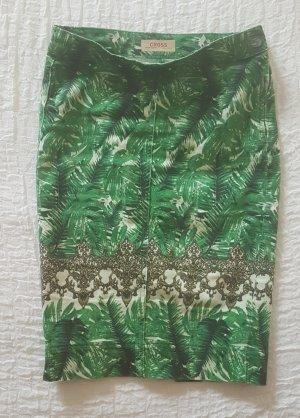 CROSS JEANS Denim Skirt multicolored cotton