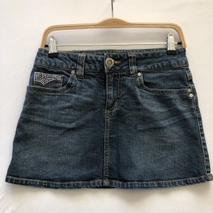 Only Denim Skirt steel blue