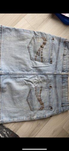 Cecilia Classics Denim Skirt azure-cornflower blue