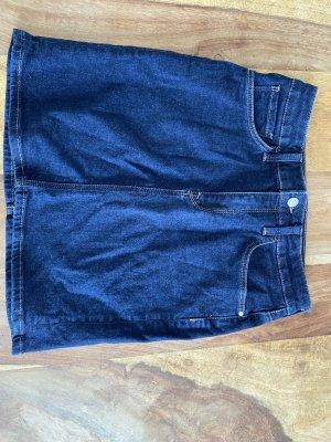 Mavi Denim Skirt dark blue
