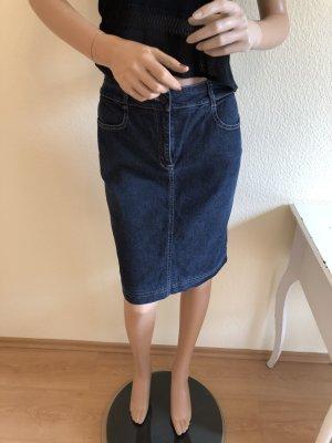 Jeans Rock Comma 34 Pencil Rock Sommer