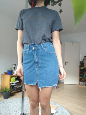 Jeans Rock Denim blau 34