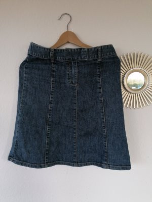 H&M Denim Skirt steel blue
