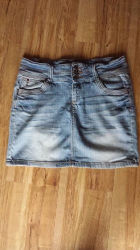 Promod Jupe en jeans multicolore