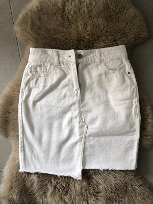 Jeans Rock Gr. 36 NEXT weiß