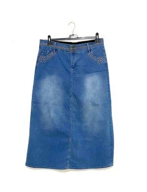Jeans Rock Größe 42/44 Vintage