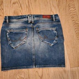LTB Gonna di jeans azzurro-blu acciaio
