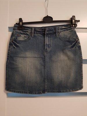 Takko Gonna di jeans blu scuro