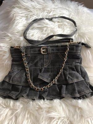 Jeans Rock Tasche
