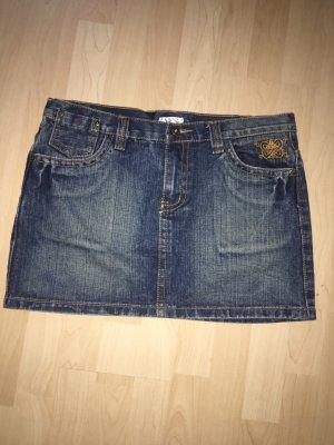 X-Mail Gonna di jeans blu scuro