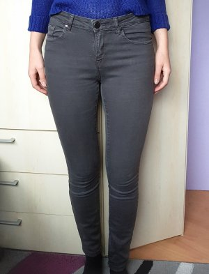 Amisu Jeans cigarette multicolore tissu mixte